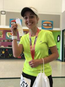 Niki vernonia marathon 3rd place