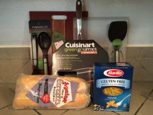 GF kitchen goodie bag